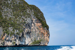 Islands in Andaman Sea. Beautiful Islands in Andaman Sea ,Krabi, Thailand Royalty Free Stock Images