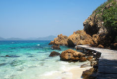 Islands in Andaman sea, Thailand. Beautiful islands. Khao Kham islands in Andaman sea, Chonburi Thailand Royalty Free Stock Photo