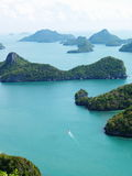 Islands of Angthong NP, Thailand Stock Photo
