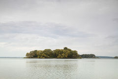 Islands in the autumn Stock Photography