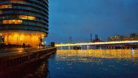 Islands Brygge - evening view Royalty Free Stock Images