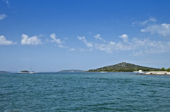 Islands of the Croatian coast Stock Photos