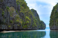 Islands of El Nido, Philippines Royalty Free Stock Images