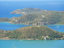 Islands facing Charlotte Amalie, St. Thomas Royalty Free Stock Photo