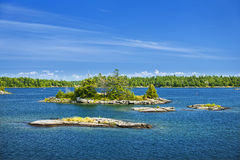 Islands in Georgian Bay Royalty Free Stock Image
