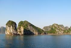 Islands of HaLong Bay Royalty Free Stock Photos