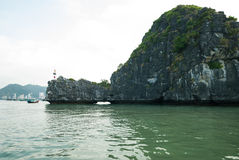Islands in Halong bay Royalty Free Stock Image