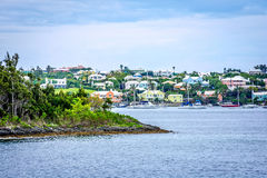 Islands and Homes Bermuda Stock Photography