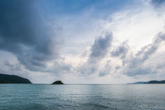 Islands on the horizon Royalty Free Stock Photography