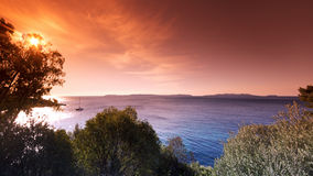 Islands of Hyeres Royalty Free Stock Photography