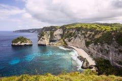 Islands in the Indian Ocean, Nusa Penida, Indonesia Stock Image