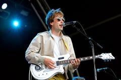 Islands (indie rock band) in concert at Heineken Primavera Sound 2014 Festival Royalty Free Stock Images