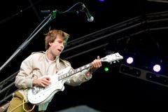Islands (indie rock band) in concert at Heineken Primavera Sound 2014 Festival (PS14) Stock Image