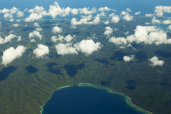 The islands of Indonesia from above Stock Photo
