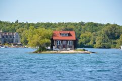 1000 Islands and Kingston. In Ontario, Canada Royalty Free Stock Photo