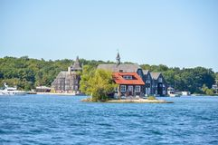 1000 Islands and Kingston. In Ontario, Canada Royalty Free Stock Photos