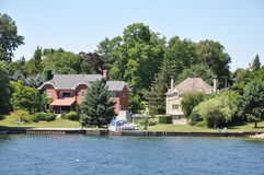 1000 Islands and Kingston in Ontario Royalty Free Stock Photography