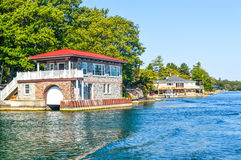 1000 Islands and Kingston. In Ontario, Canada royalty free stock image