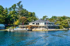 1000 Islands and Kingston. In Ontario, Canada stock photo