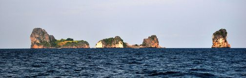 Islands Ko Ha, Thailand Royalty Free Stock Image