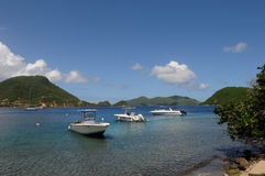 Islands of Les Saintes Stock Images