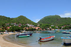 Islands of Les Saintes Stock Photography