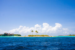 Islands on Maldives Royalty Free Stock Images
