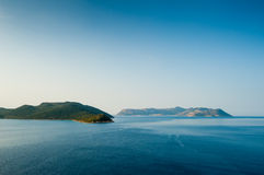 Islands in the Mediterranean Sea Stock Images