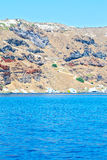 From   islands in mediterranean sea  sky Stock Images