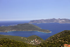 Islands in the Mediterranean, Turkey Royalty Free Stock Image