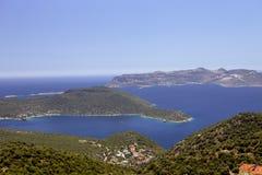 Islands in the Mediterranean, Turkey Royalty Free Stock Image