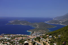 Islands in the Mediterranean, Turkey Stock Photos