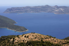Islands in the Mediterranean, Turkey Royalty Free Stock Photo
