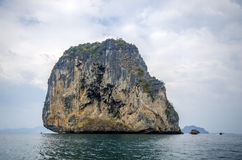 Islands at the national hat noppharat thara, Krabi, Thailand Royalty Free Stock Image