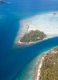 Islands in the ocean. Stock Image