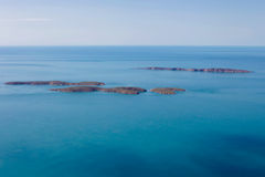 Islands off the coast of Western Australia. Royalty Free Stock Photos
