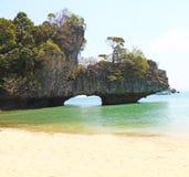 Islands off yao noi island thailand Royalty Free Stock Photos