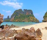 Islands off yao noi island thailand Stock Photo