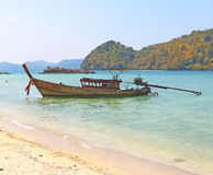 Islands off yao noi island thailand Royalty Free Stock Photography
