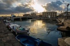 Islands of Ortigia Royalty Free Stock Image