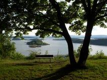 Islands Oslo. View of Islands Oslo from Ekebergparken Stock Photo