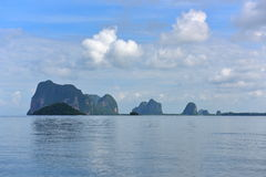 Islands out at Andaman Sea Stock Photo