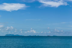 Islands in Pacific ocean, Thailand Stock Photography