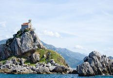 The islands of Petrovac Stock Photos