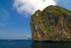 Islands Phi Phi. At the Indian ocean, Thailand Stock Photo
