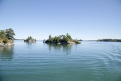 1000 islands. mil islas Royalty Free Stock Photo