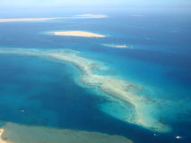 Islands in the red sea. Near Egypt royalty free stock photography