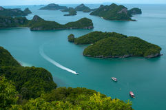 Islands and sea - Thailand Royalty Free Stock Photos