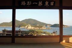 Islands in Seto inland sea from Fukuzen temple. Tomonoura, Hiroshima, Japan Stock Photography
