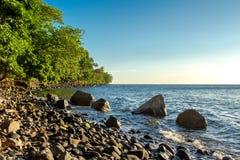 Islands shoreline Stock Images